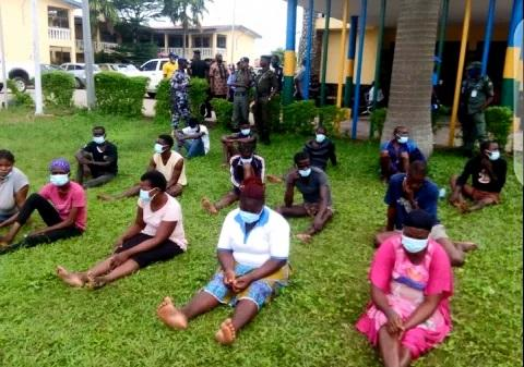 escaped prisoners rearrested