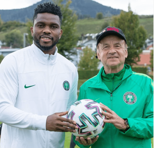 joseph yobo, Gernot Roh, new super eagles assistant coach