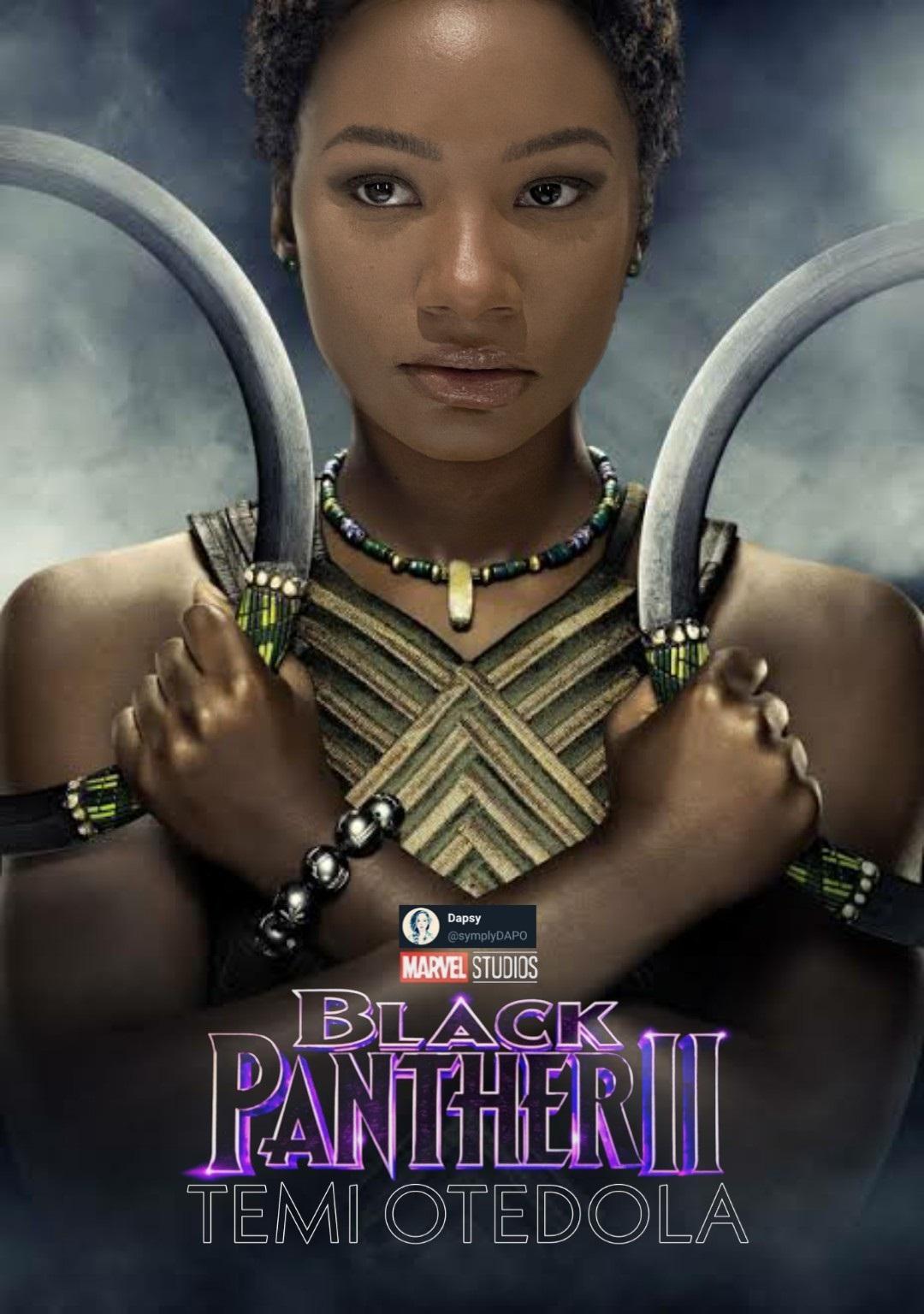 Temi otedola black panther 2 cover