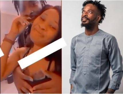leaked video 9ice pressing breast of another woman
