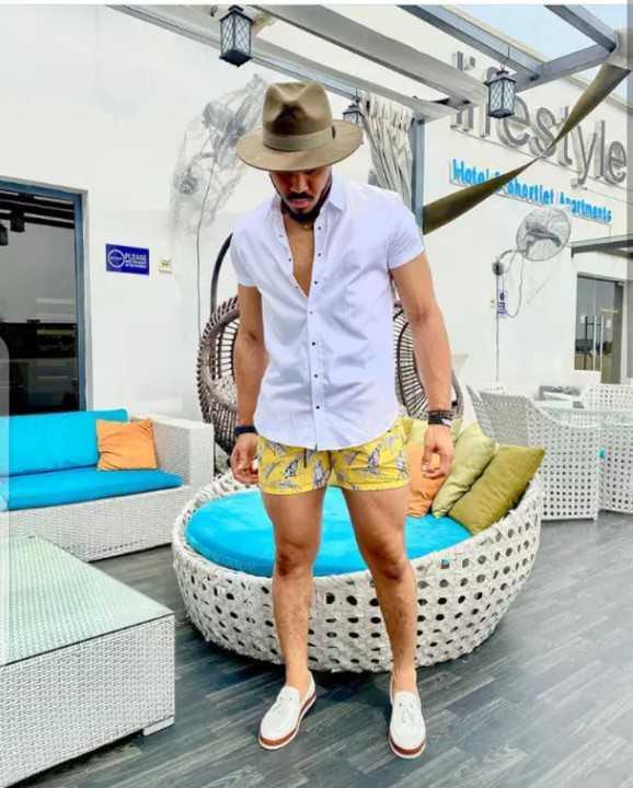 ozo on bum shorts