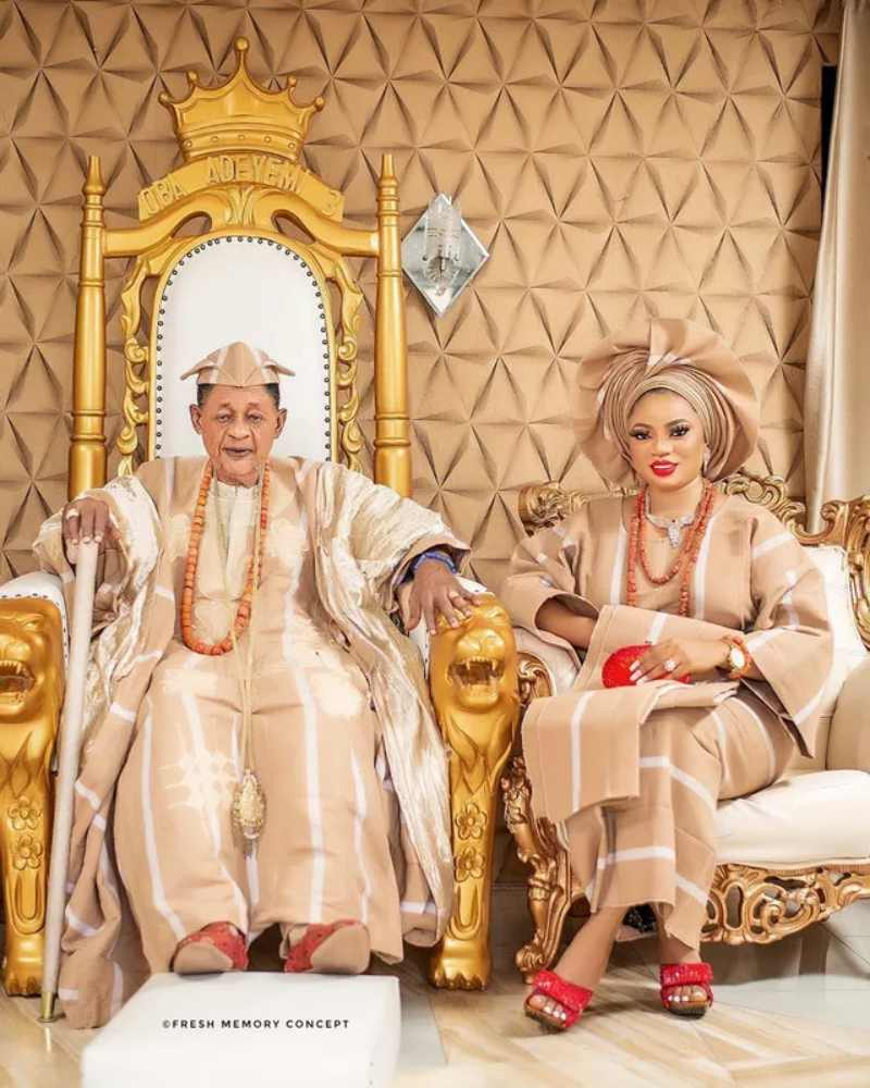 Queen Anu and the Alaafin of Oyo