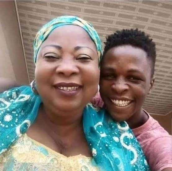 Laycon celebrates his mother on her birthday