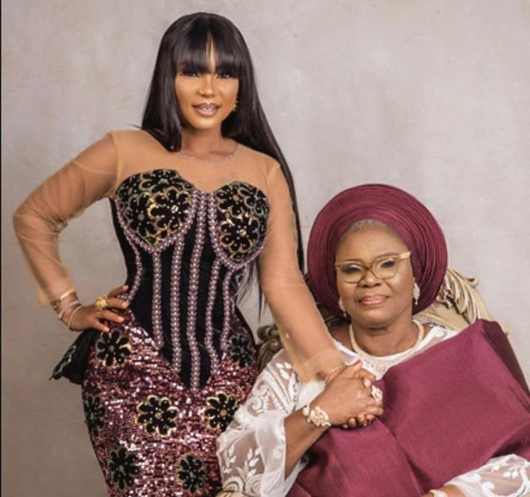 iyabo ojo and her mother