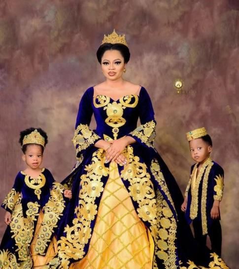 Queen Anu and her children