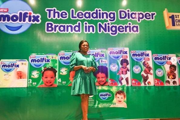 Funke Akindele brand ambassador Molfix