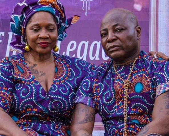 charly boy and his wife