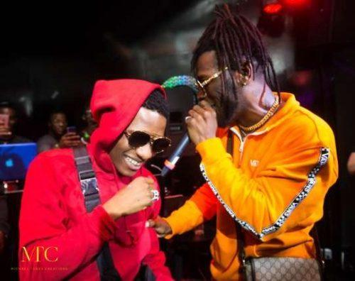 Wizkid, Burna Boy Rehearse 'Ginger' Together Ahead Of Live Performance