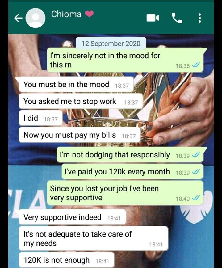 Lady Who Collects 120k Monthly Allowance from Boyfriend Demands They Open Joint Account 1