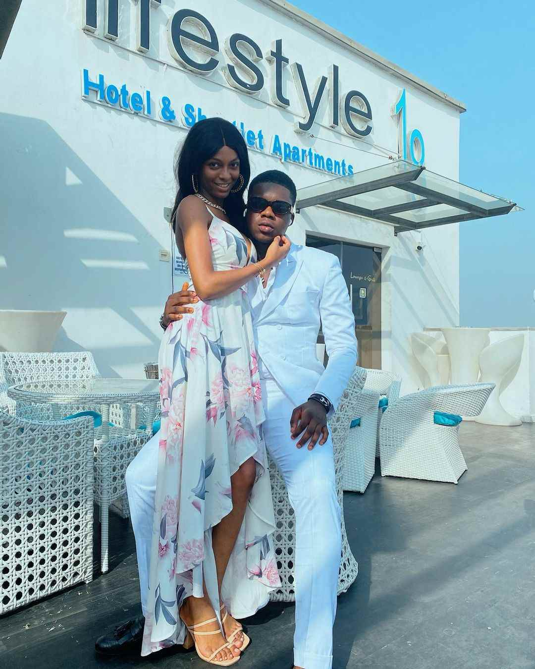 New Photos of Comedian, The Cute Abiola and Adeherself Sparks Dating Rumour