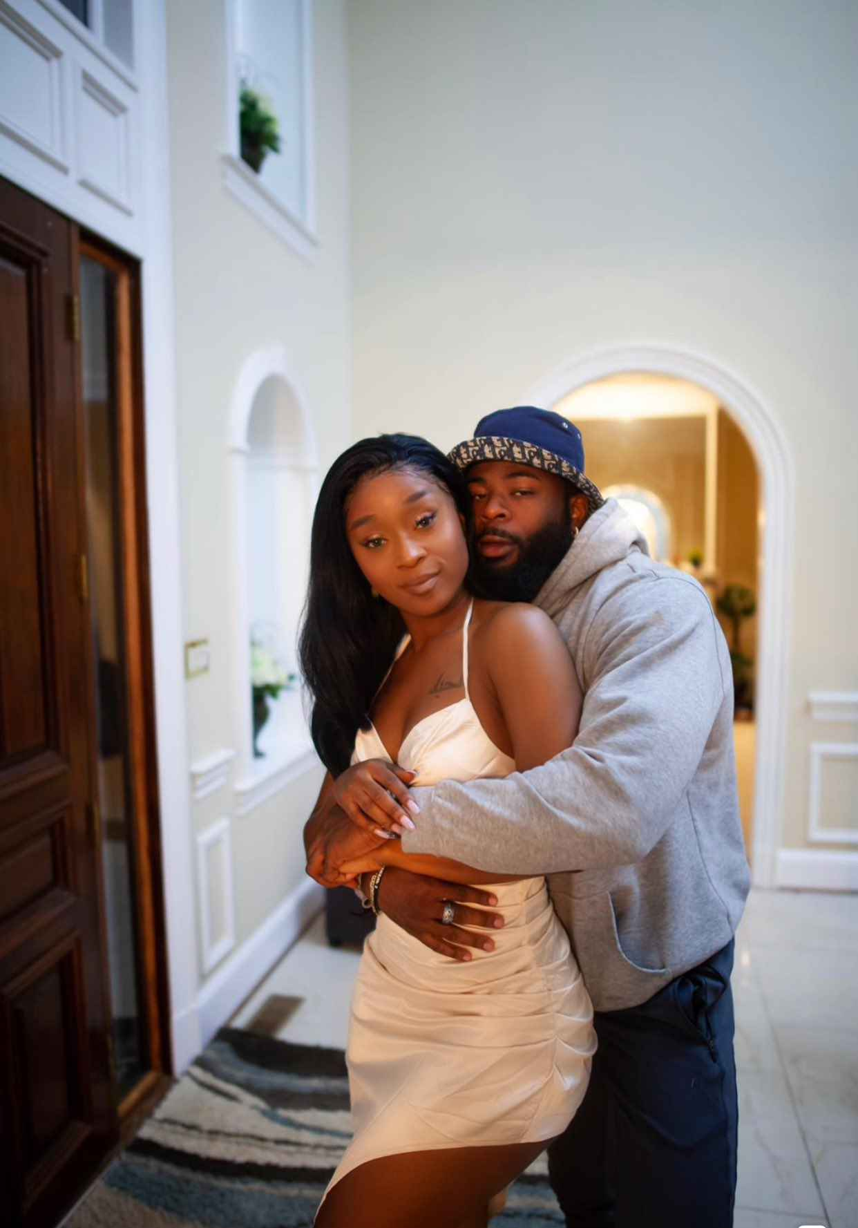 efia odo and her nigerian boyfriend