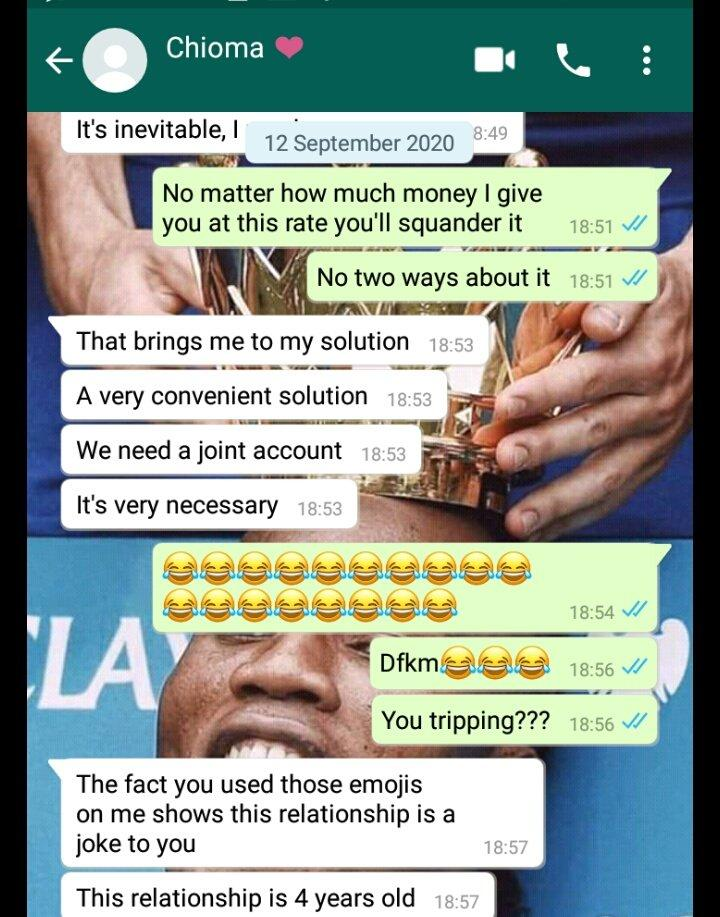 Lady Who Collects 120k Monthly Allowance from Boyfriend Demands They Open Joint Account 3