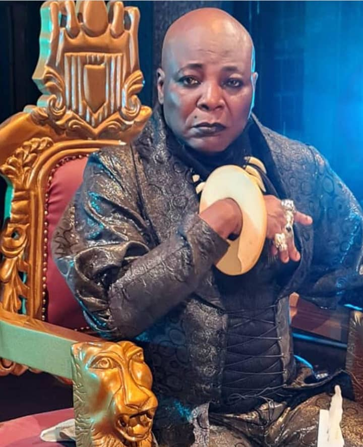 Charly Boy proposes to his wife