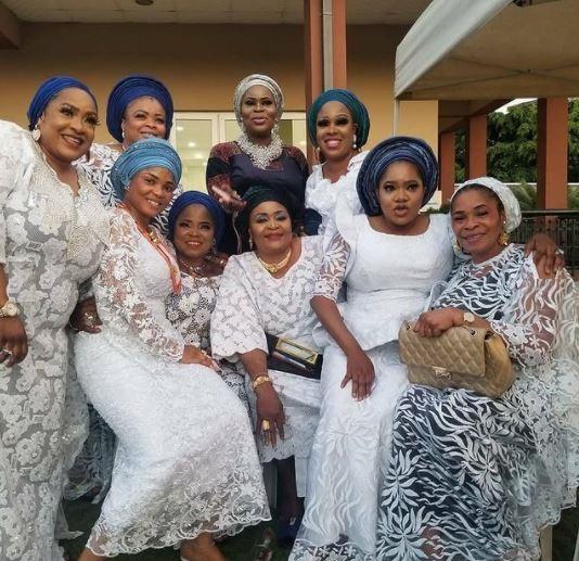 iyabo ojo mother burial ceremony