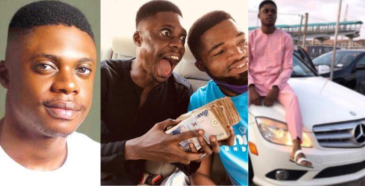 Comedian Ebiye gets N500k gift after being called out for owing car dealer N900k