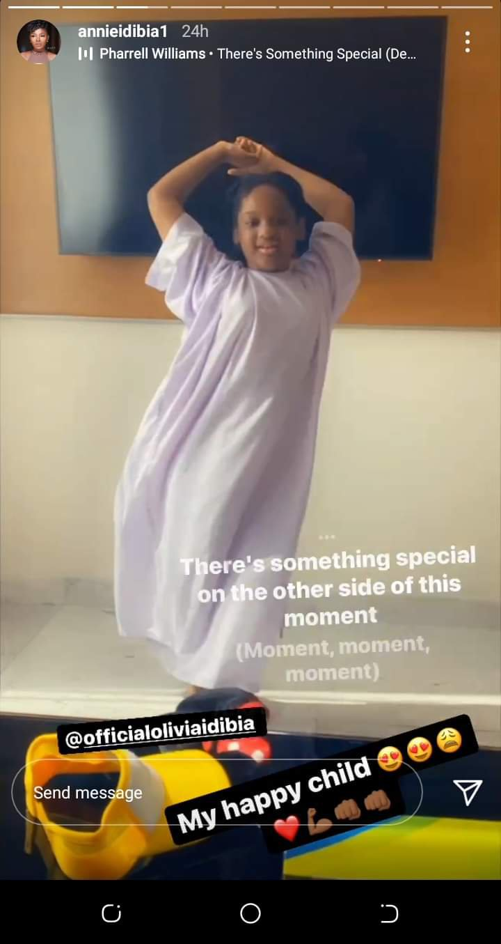 Olivia undergoes surgery in Dubai