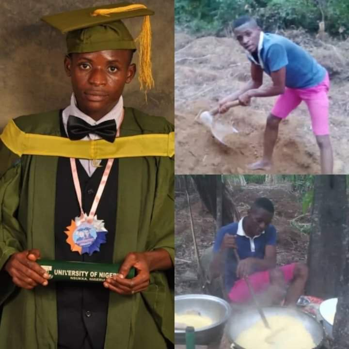UNN first class graduate turned farmer, bags 'direct' PhD scholarship in US