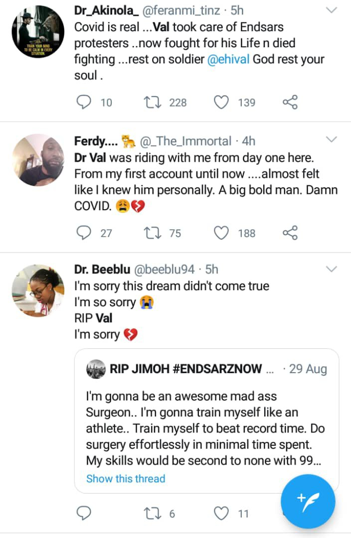 Doctor who treated #EndSARS protesters
