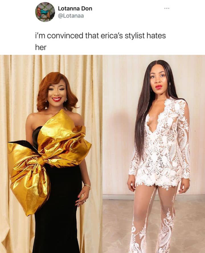 I'm Convinced That Erica's Stylist Hates Her