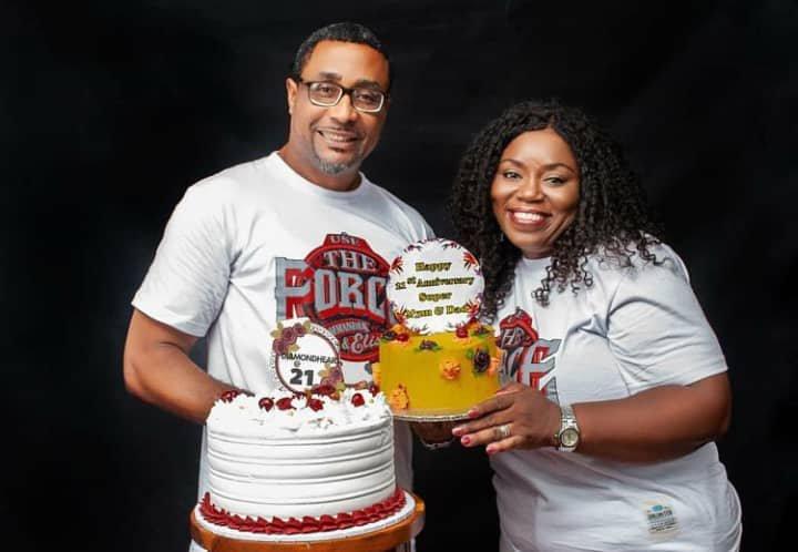 Tony Umez and wife anniversary