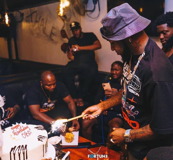 Davido's 28th birthday party