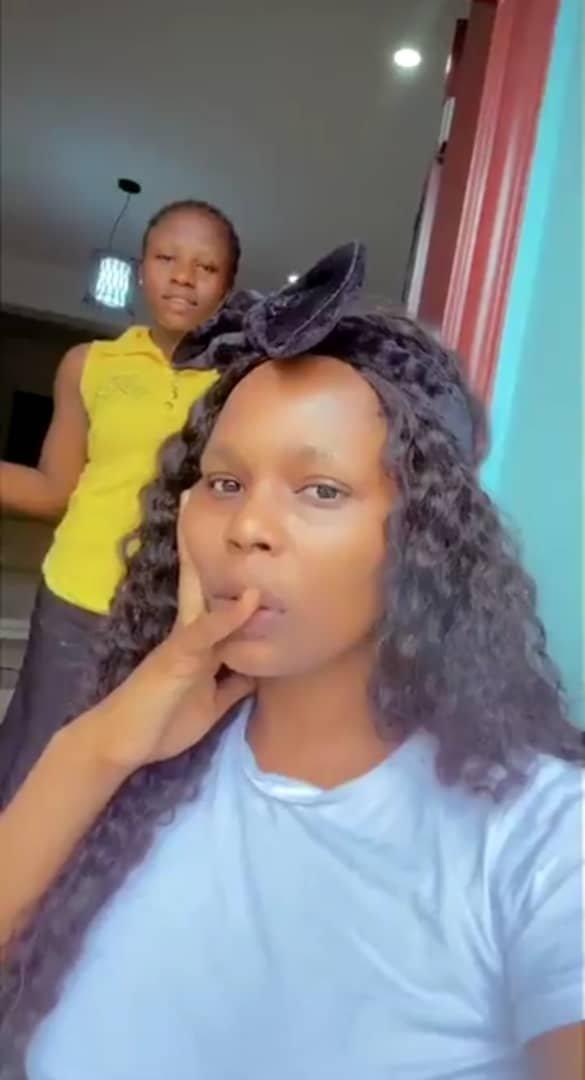 Kaisha recorded her maid
