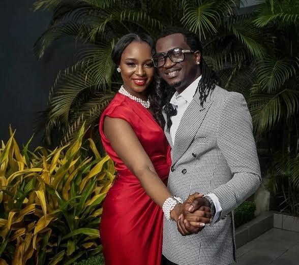 Paul Okoye celebrates wife