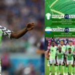 """No mercy for you"" – Striker, Kelechi Ihenacho says ahead of second leg with Sierra Leone (Video)"