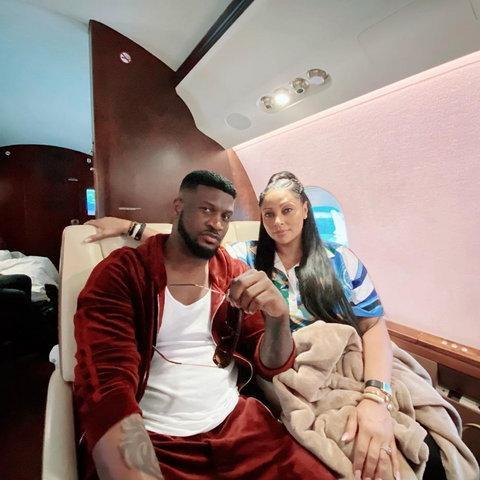 peter okoye and wife lola