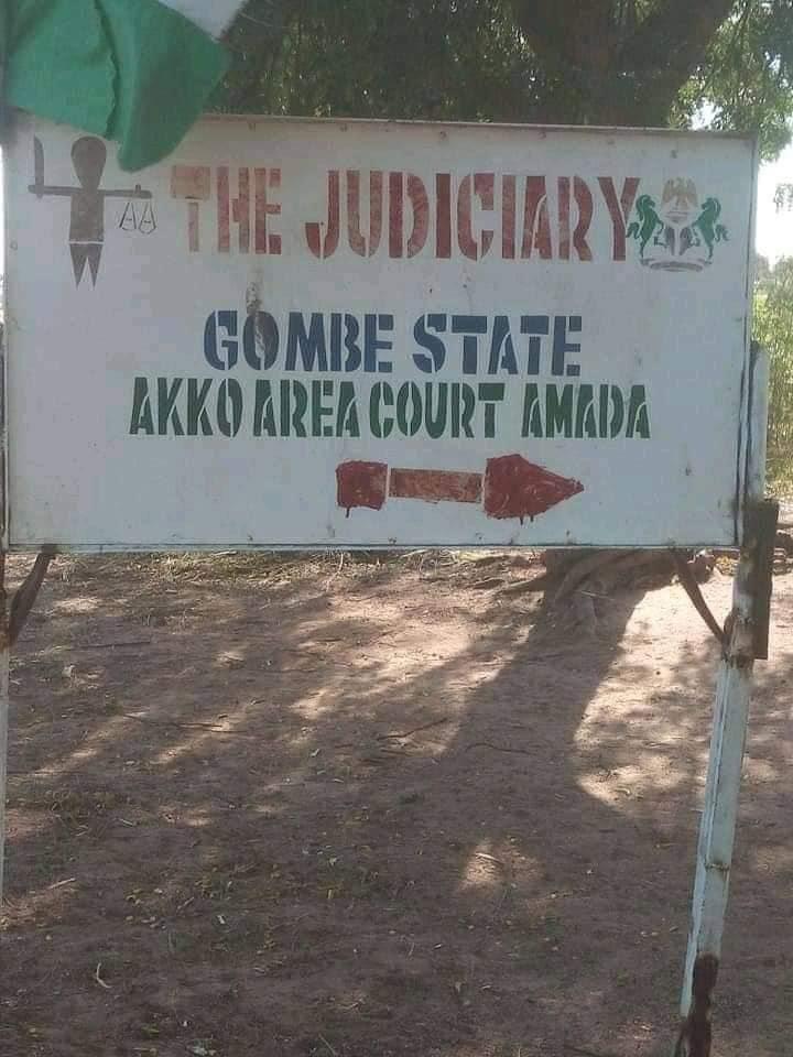 Akko area court Amada in Gombe state