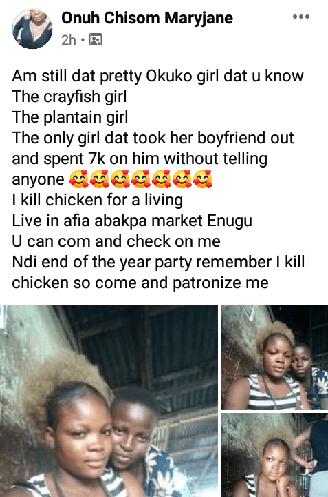"""""""No woman has ever done this"""" - Lady brags after spending N7K on her boyfriend"""