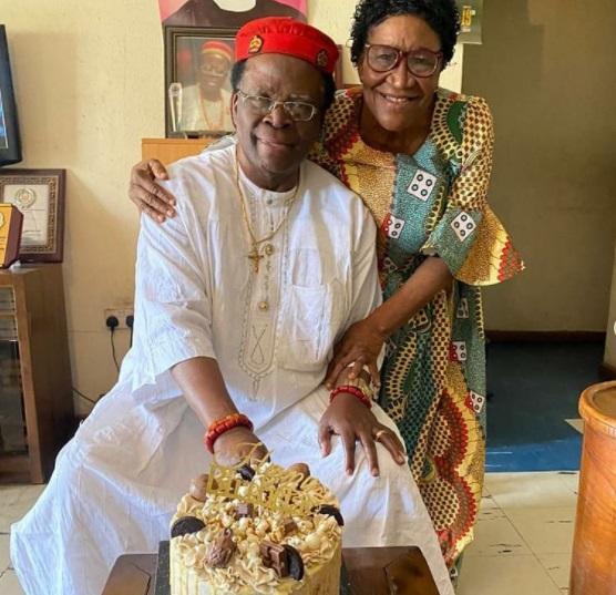 Ebuka celebrates 79th birthday of his father