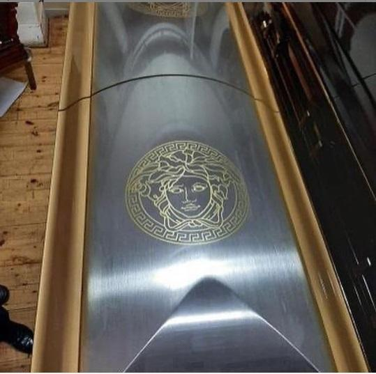 ginimbi versace coffin