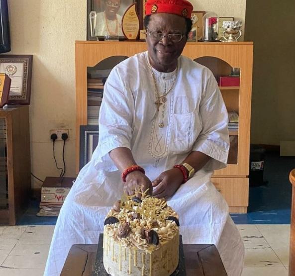ebuka's father on his birthday