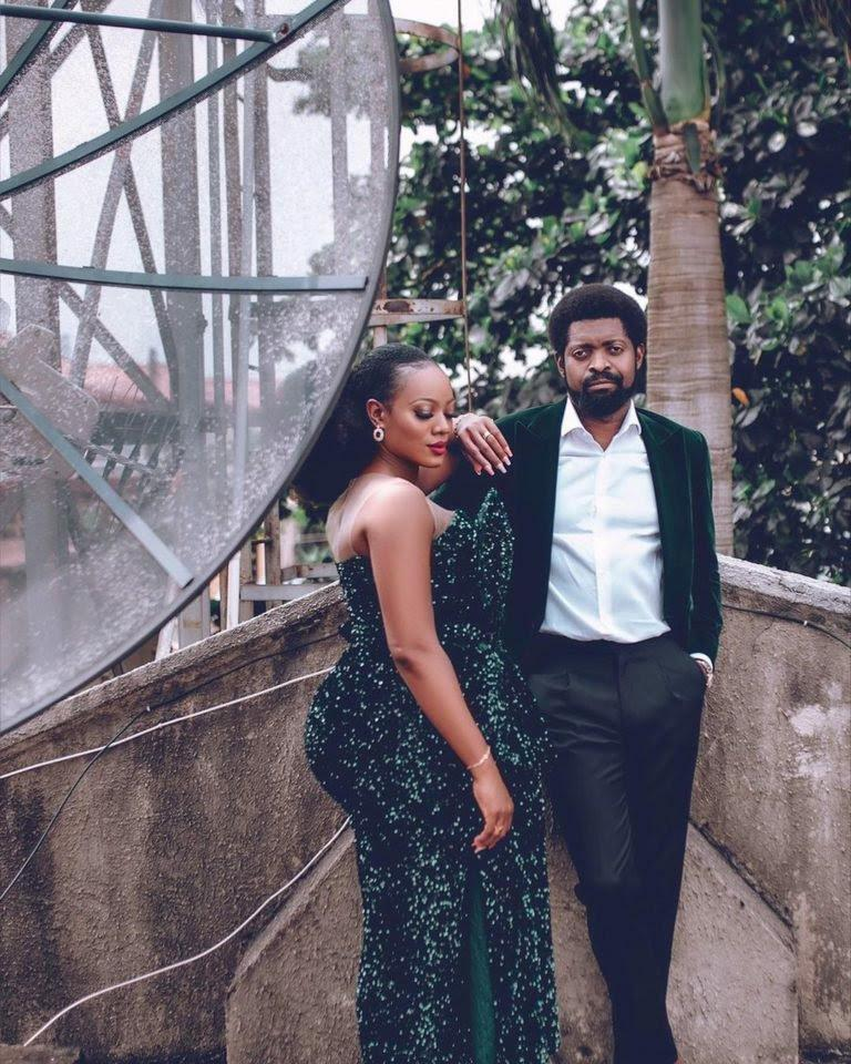 basketmouth and his wife
