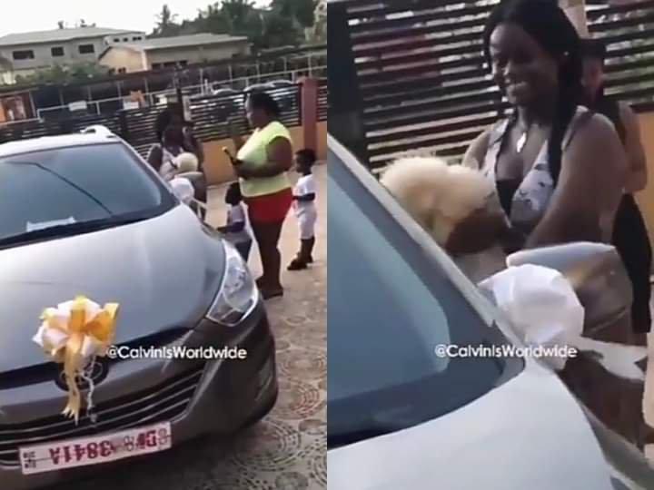 Daughter gets car for passing WAEC