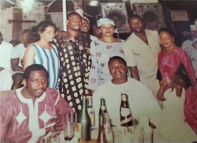 Actor Adebayo Salami oga bello Shares Throwback Photo With Jide Kosoko, Others