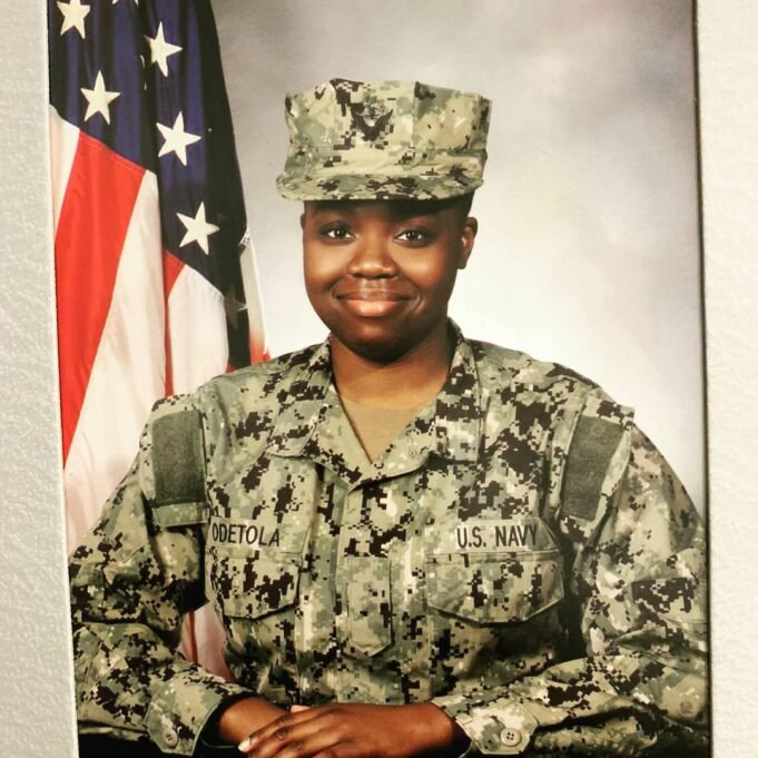 Pasuma daughter joins the US Navy