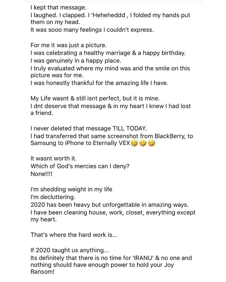 """""""You should be carrying a child not balloon"""" - Lady drags her friend as she celebrated wedding anniversary"""
