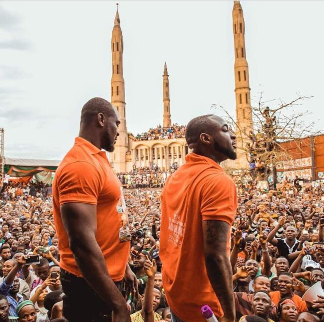 Davido continues to mourn his bodyguard