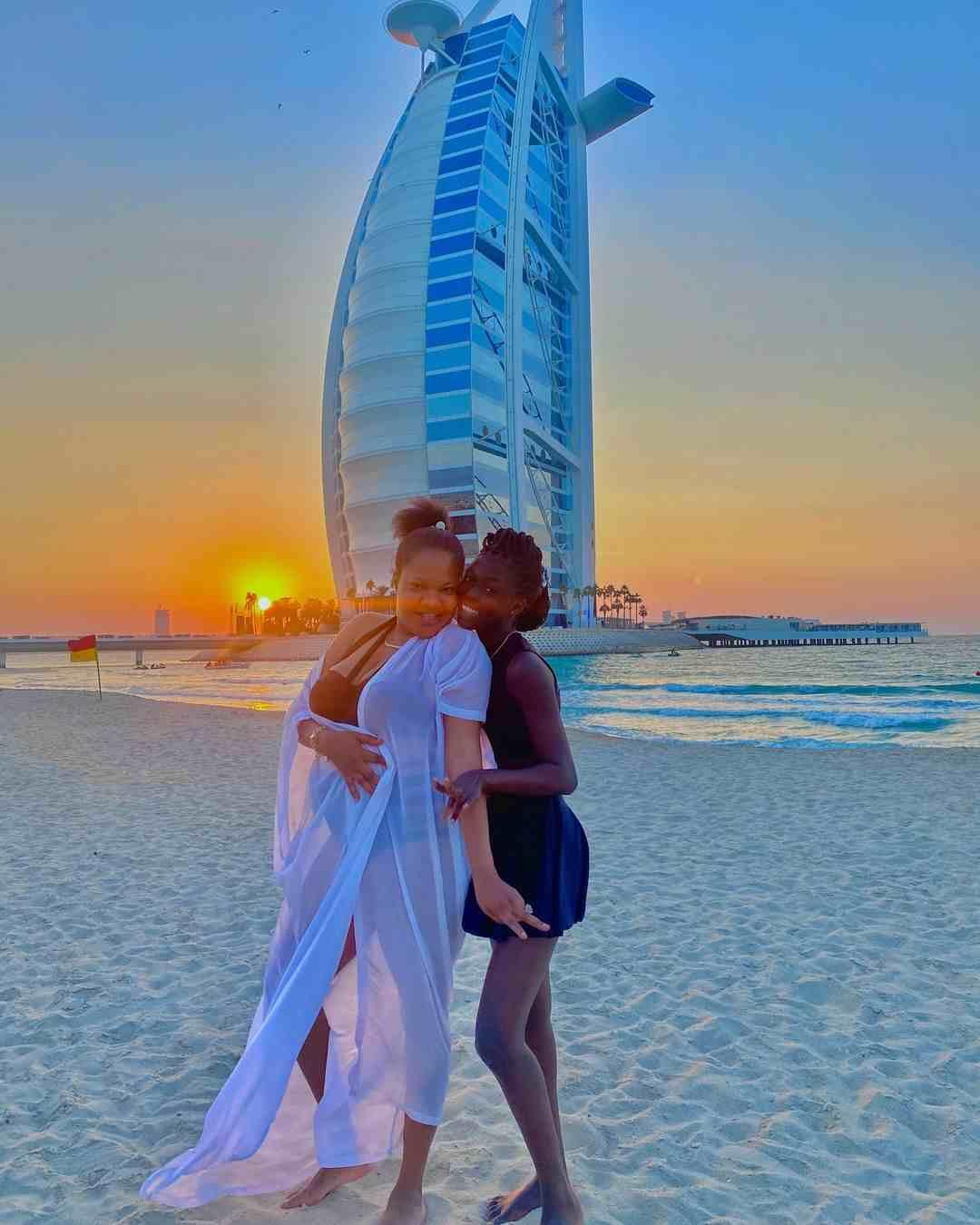 Toyin Abraham applauds husband, Ajeyemi over lavish Christmas holiday in Dubai