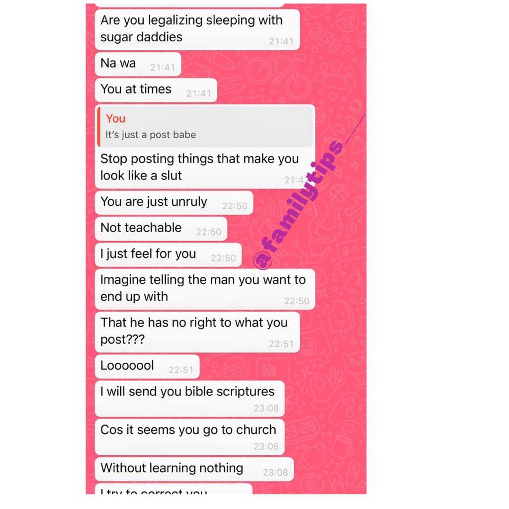 Man lambast his girlfriend for sharing post glorying sugar daddy of being caring than boyfriends