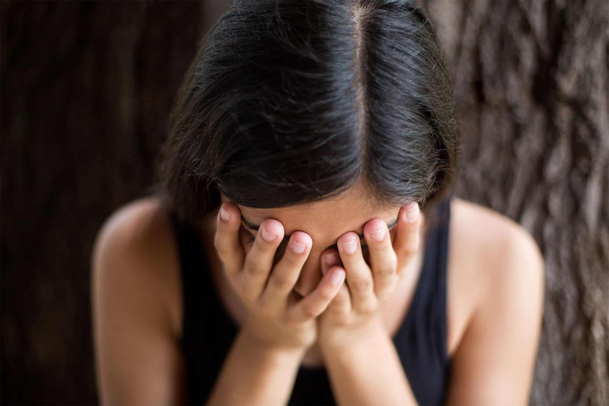 heartbroken lady