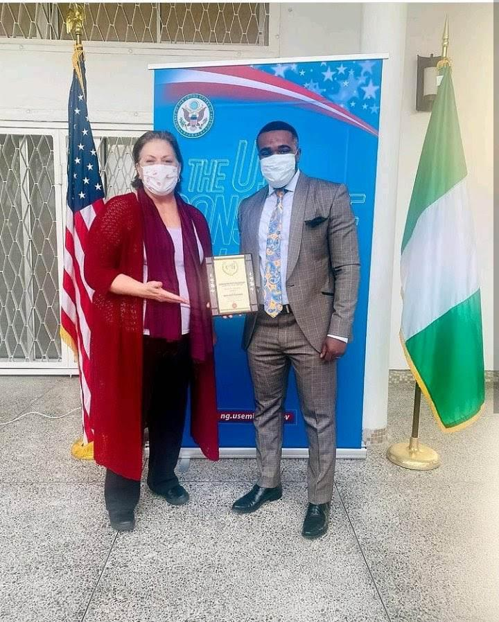 U.S. Consulate Awards Comedian, Williams Uchemba