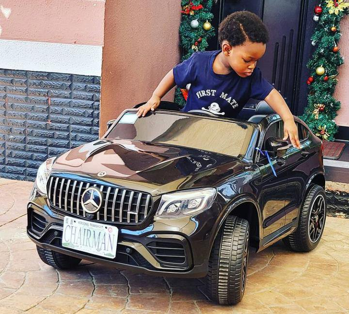 Toolz and Tunde son's birthday