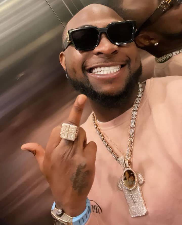 """My driver is getting married and I'm his Best Man"" - Davido"