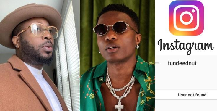 Tunde Ednut Calls Out Wizkid Threaten Others Who Reported His Instagram Account Nigerian instagram blogger, tunde ednut has disclosed that men are not poverty eradication plan for lazy women. tunde ednut calls out wizkid threaten