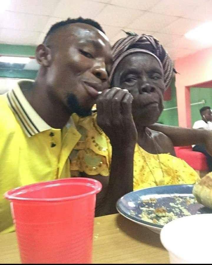Man Takes His Grandma Out