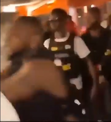 Davido allegedly involved in another fight in Ghana (Video)