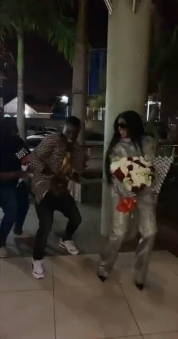 Fans welcome BBNaija's Wathoni with cultural dance in her motherland, Kenya [Video] || PEAKVIBEZ